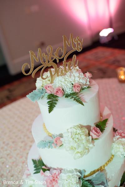 Wonderful indian wedding cake topper.