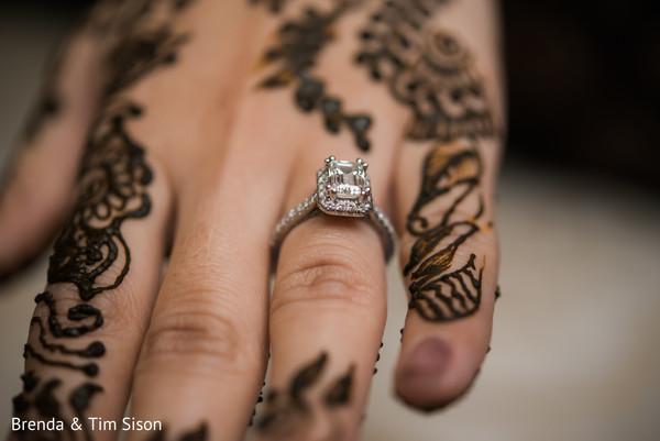 Incredible Indian bridal engagement ring.