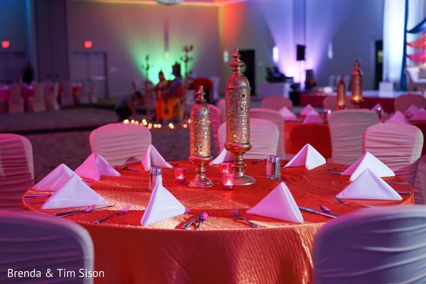 Marvelous Sangeet table decoration.