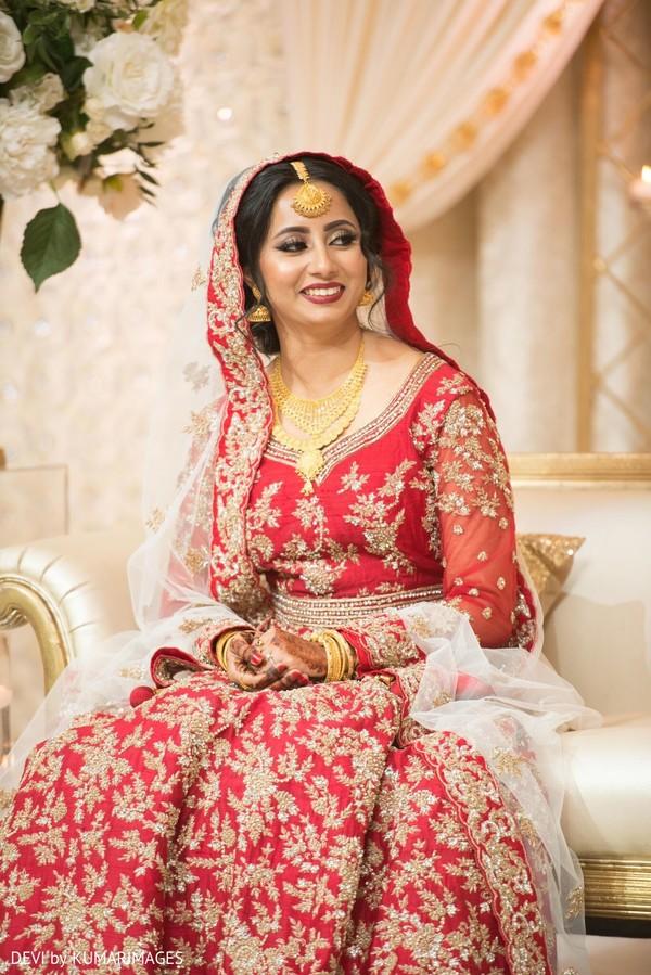 Gorgeous Maharani during the bash