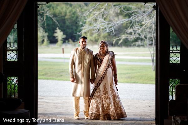 Indian couple looking stunning