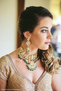Incredible Indian bridal Kundan set.