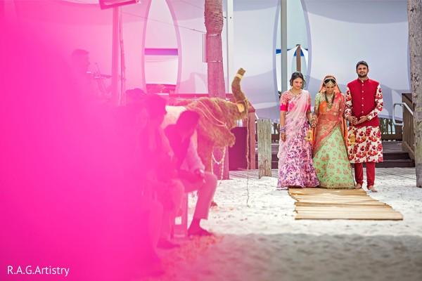 Maharani making her grand entrance