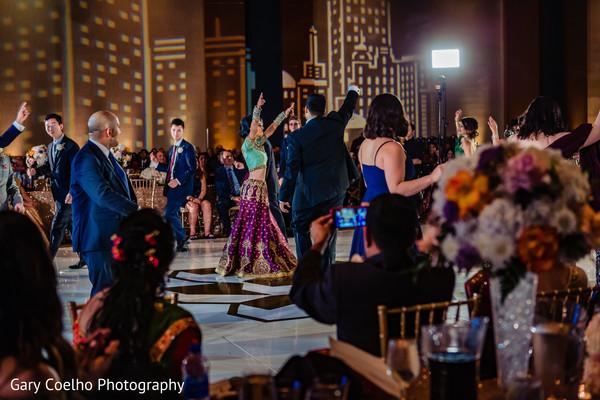 Upbeat Indian wedding dance choreography.