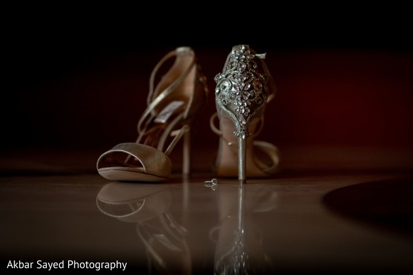 Stunning maharani's wedding shoes.