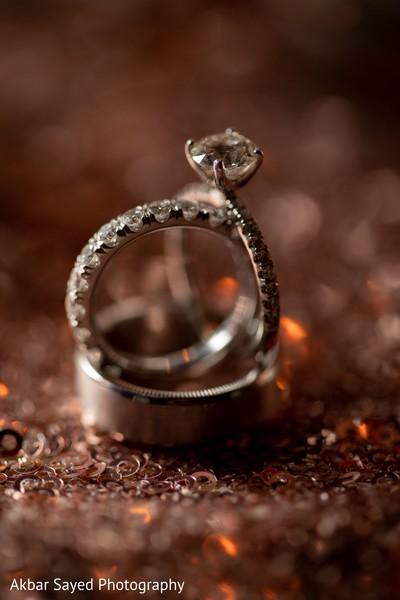 Stunning Indian wedding rings.