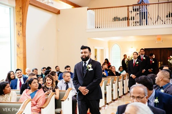 Indian groom's grand entrance