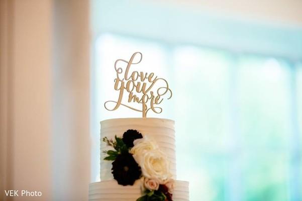 Indian wedding cake photography