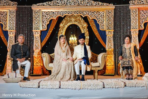 Indian bride and Maharani looking dazzling