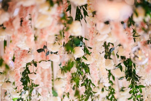 Dreamy flowers for mandap decoration.
