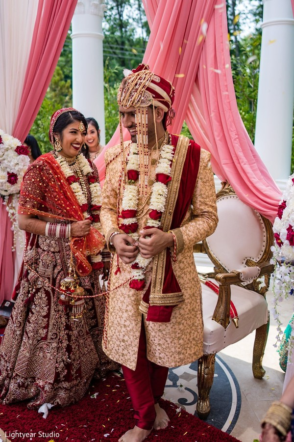 Take a look at this Indian wedding ceremony ritual.