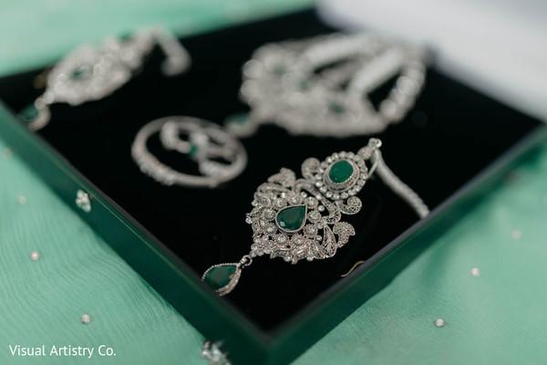 Beautiful earrings of the Maharani