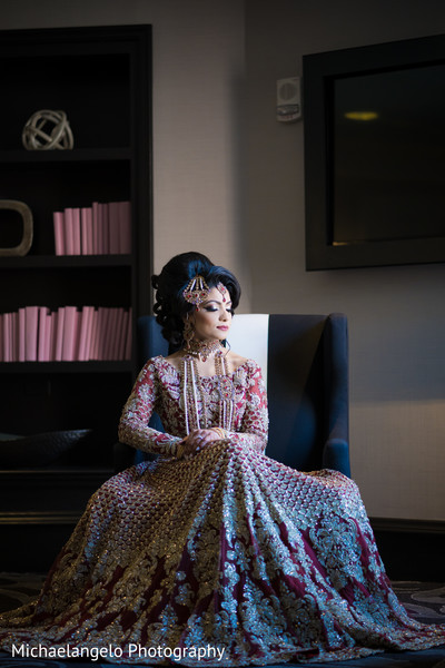 Spectacular Indian bride portrait