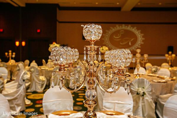 Majestic chandelier.