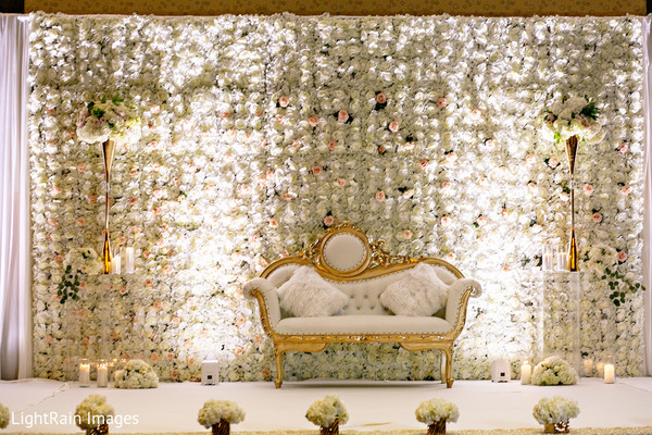 Impressive Indian wedding stage.