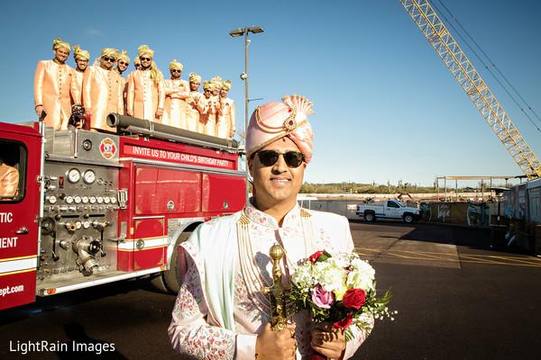 Amazing Indian groom and groomsmen squad.