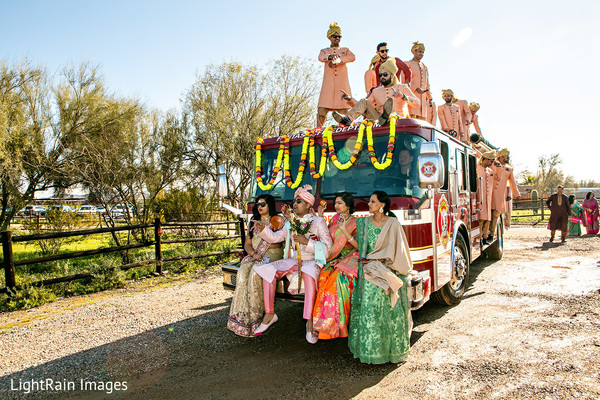 Original baraat transport.