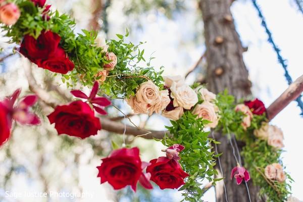 Mandap floral decor.