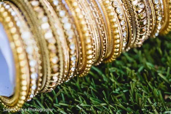 Charming bridal bangles