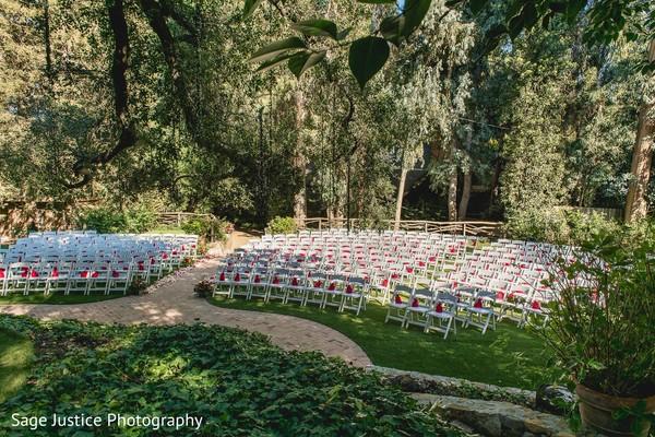 Magical outdoor Indian wedding