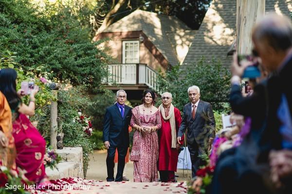 Indian bride big entry.
