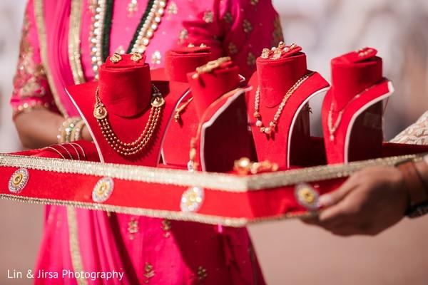Indian wedding jewelry details