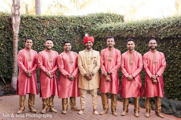 Indian groom looking sharp