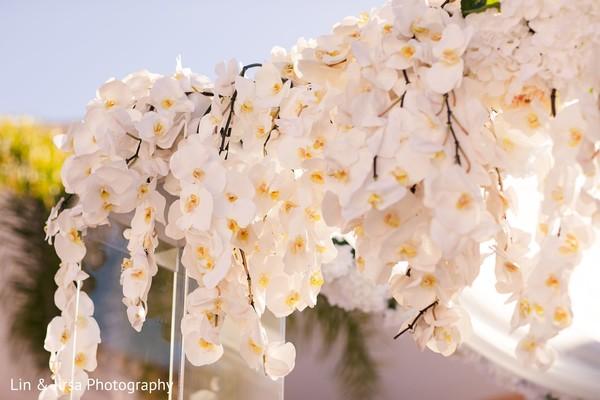 Indian wedding floral designs