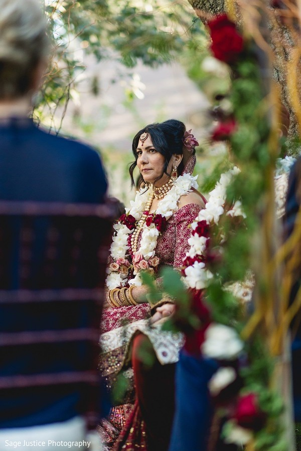 Insanely beautiful indian bride portrait