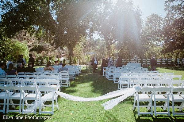 Details of the outdoor ceremony