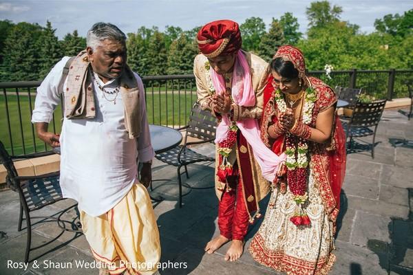 Post-ceremony ritual