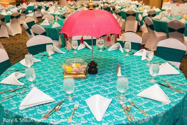 Striking pre-wedding events decor.