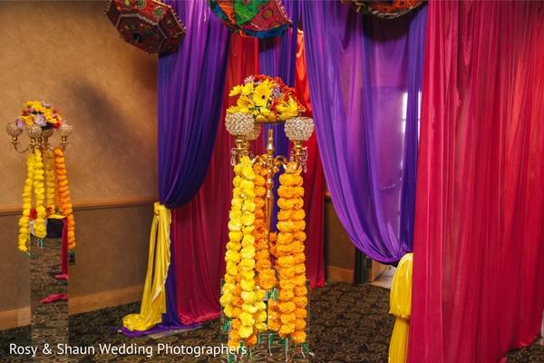Sangeet entry decor.