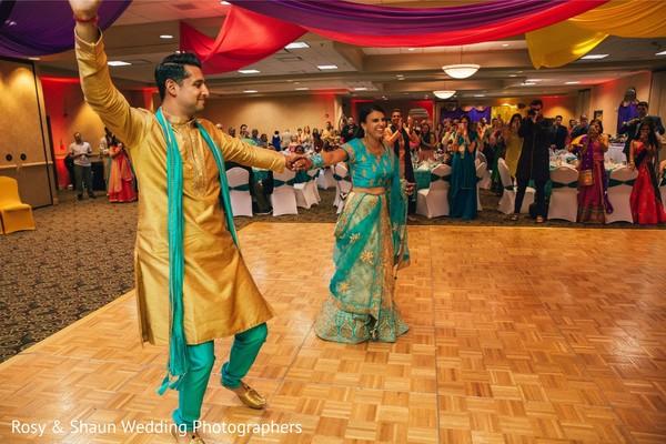 Sangeet dance.