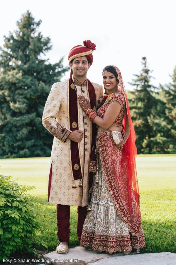 Indian lovebirds romantic scene