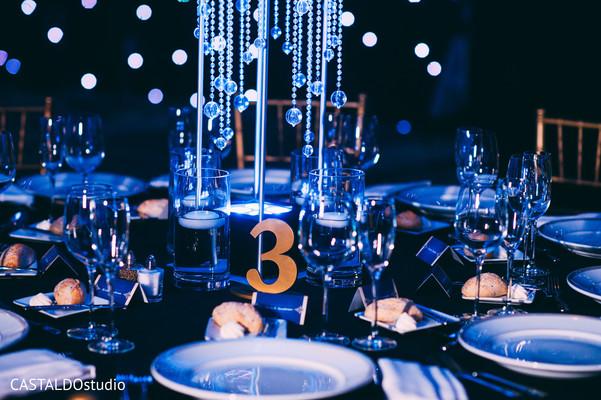 Table setup design
