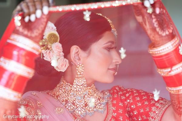 Maharani through her ghoonghat capture.