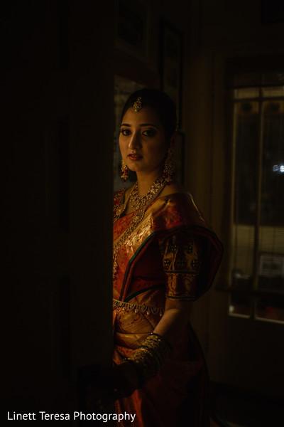 Dreamy indian bridal capture.