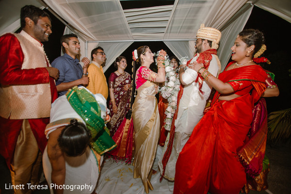 Varmala ceremony garland exchange ritula