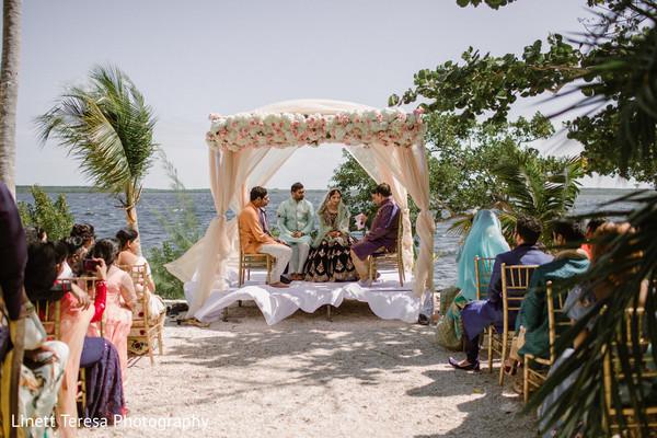 Traditional muslim wedding ceremony.
