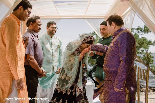 Maharani saluting at ceremony capture.