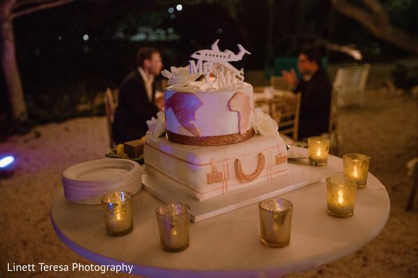Incredible Indian wedding cake decorations.
