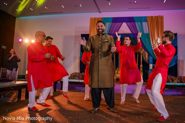 Indian groom performance