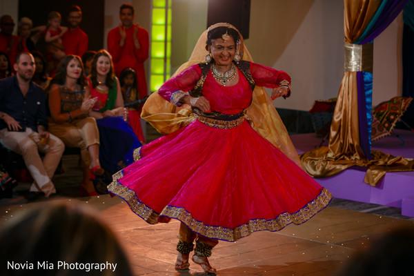 Indian wedding sangeet live performance