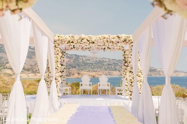 Spectacular indian wedding stage setup.