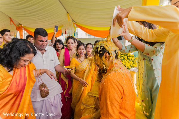 Groom during the rituals