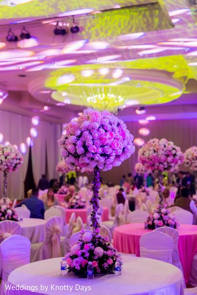 Indian wedding floral arrangements