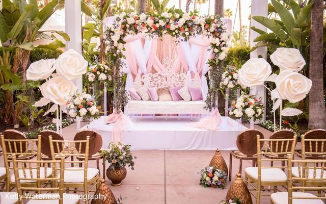 Spectacular indian wedding mandap decor.