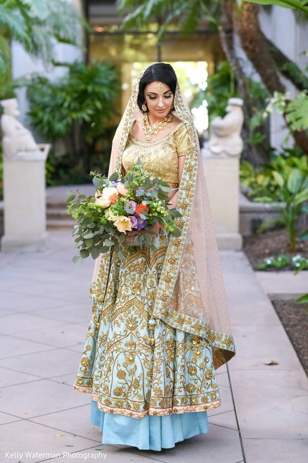 Ravishing Indian bridal photo.