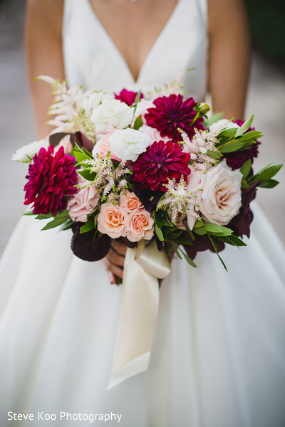 Detail of the bouquet